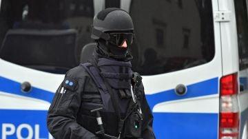 Imagen de archivo de un policía en Alemania