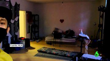 habitación orgia