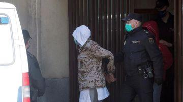 Rafael Amargo trasladado hasta los juzgados de Plaza de Castilla