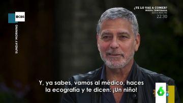 """Las confesiones más personales de George Clooney: """"Estuve 20 minutos con la rodilla clavada hasta que Amal me dijo que sí"""""""