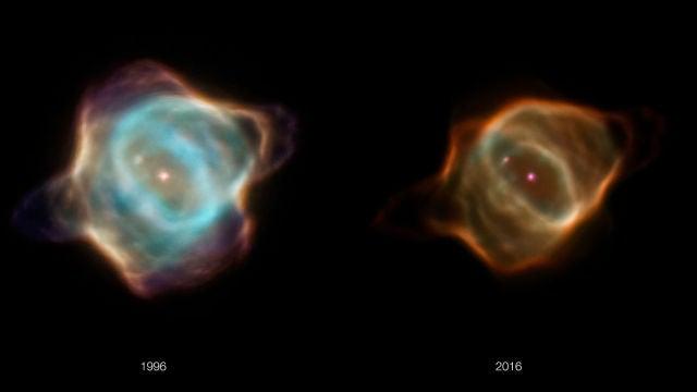 Asi se apaga la mas joven de las nebulosas planetarias