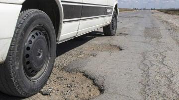 Las suspensiones sufren especialmente en carreteras en mal estado
