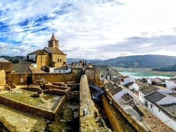 Embalse desde el castillo de Iznájar