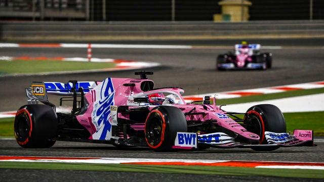 Sergio Perez Sakhir 2020 Victoria