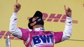 Sergio Pérez gana en el GP de Sakhir