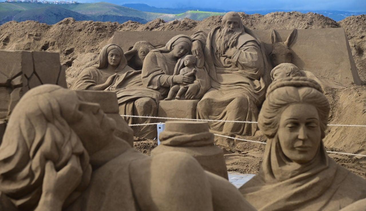 El belén de arena de Las Canteras-posdata-dgiital-press