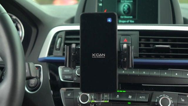 XCAN, el soporte inteligente de coche para móviles.