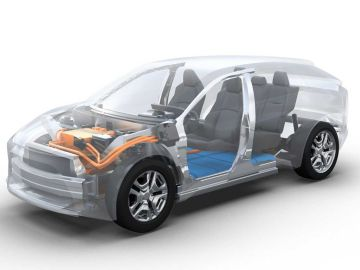 Nuevo SUV eléctrico de Toyota