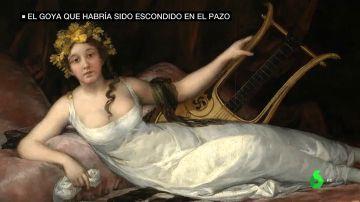 El cuadro de Goya que Franco quiso regalar a Hitler: confundió un símbolo celta con una esvástica y acabó escondido