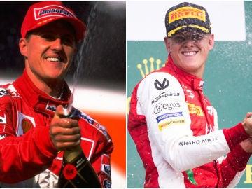 Michael Schumacher y Mick