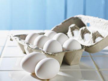 Imagen de archivo de unos huevos.