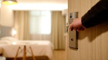 Imagen de archivo de una habitación de hotel
