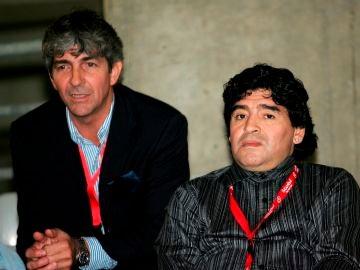 Paolo Rossi y Diego Maradona, dos iconos del Mundial de España 1982