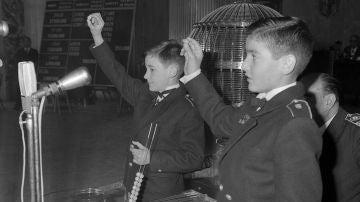 En qué año se celebró el primer sorteo de la Lotería de Navidad
