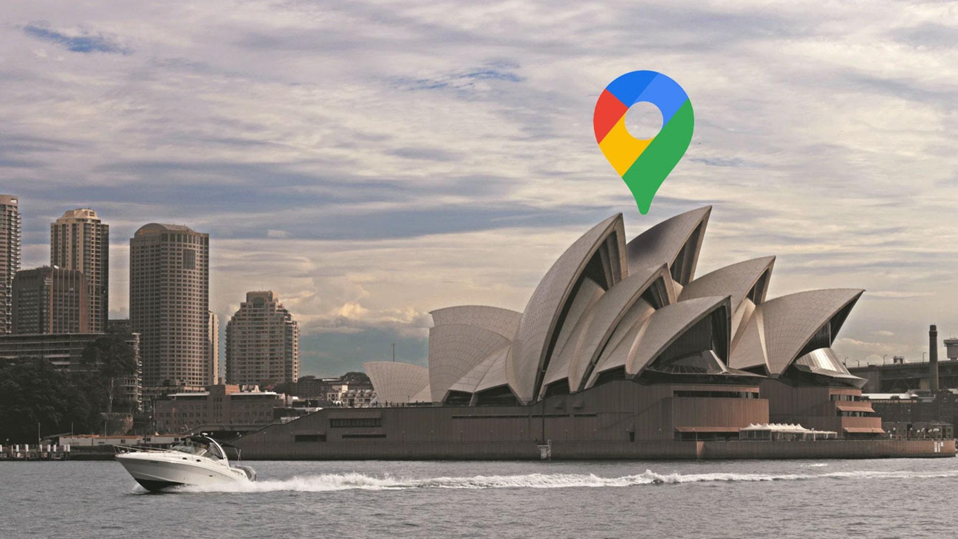 La ópera de Sidney, en Australia.