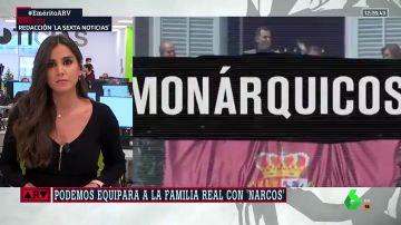 El vídeo de Podemos que equipara a la familia real con 'Narcos'