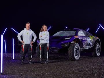Hamilton ha conseguido una pareja de lujo para la nueva competición