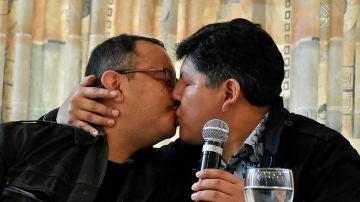 David Aruquipa y Guido Montaño