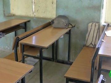Imagen de una clase de una escuela de Nigeria