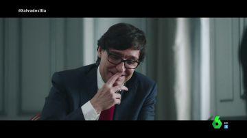 El 'risa' del ministro Illa cuando Gonzo le pregunta sobre el posible regreso del rey Juan Carlos a España