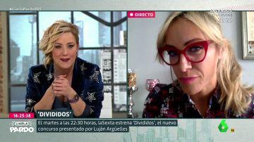 Luján Argüelles charla con Cristina Pardo