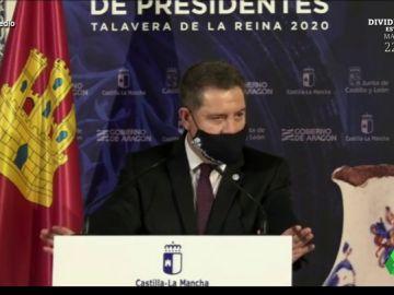 """La surrealista defensa de García Page a la Constitución: """"El sistema es como una cremallera, y ya saben lo que pasa con una"""""""