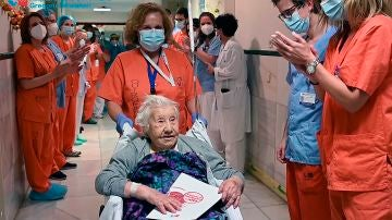 Elena, la anciana de 104 que ha superado la COVID-19