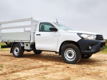 La Hilux ya está disponible con chasis Cabina Sencilla y Cabina Extra