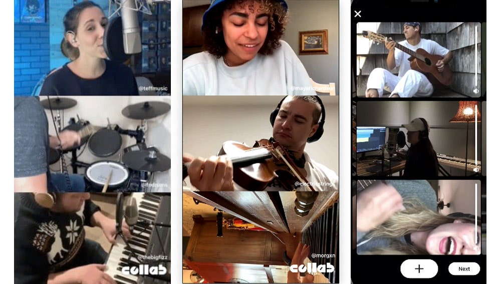 Collab Band Together, de Facebook.