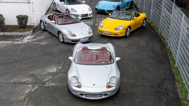25 años del Porsche Boxster