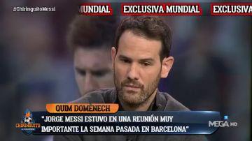 """Exclusiva de Quim Domènech: """"Jorge Messi tuvo una reunión con el consulado de Catar"""""""