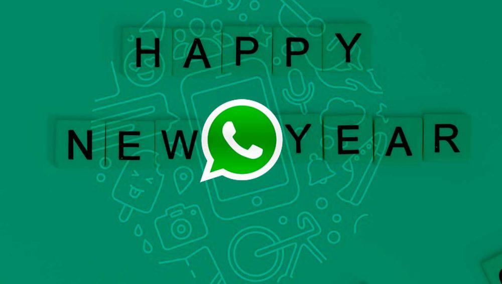 FElicita el año nuevo con stikers de WhatsApp