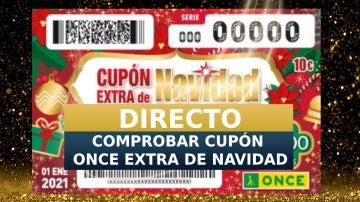 Sorteo ONCE 1 de enero 2020   Comprobar cupón extra de Navidad, en directo