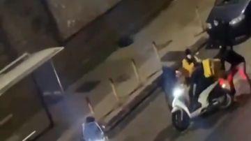 Atraco a un 'rider' en Nápoles