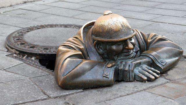 Esculturas en Bratislava