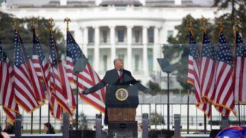 Donald Trump culpa a su vicepresidente Mike Pence del caos generado por sus seguidores en el Capitolio