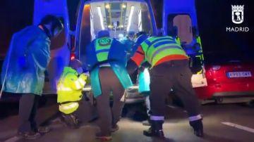 Disparan en el cuello a un hombre en plena calle de Usera, en Madrid