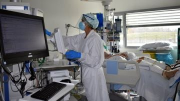 Unitat de Cures Intensives a l'Hospital Santa Caterina de Salt