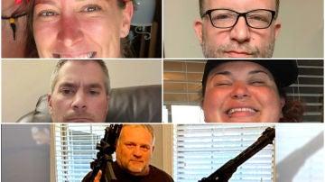 Víctimas del asalto al capitolio de EEUU