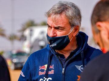 Carlos Sainz, en el Dakar