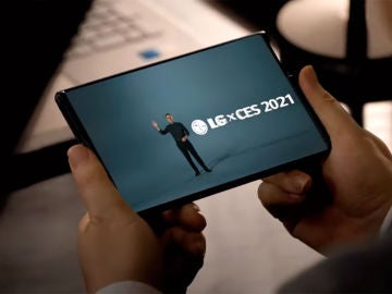 El móvil enrollable de LG