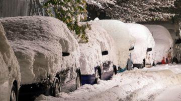Nieve en las calles