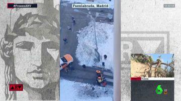 """Las autoridades piden no salir a la calle """"si no es imprescindible"""" ante el peligro de las caídas por el hielo"""