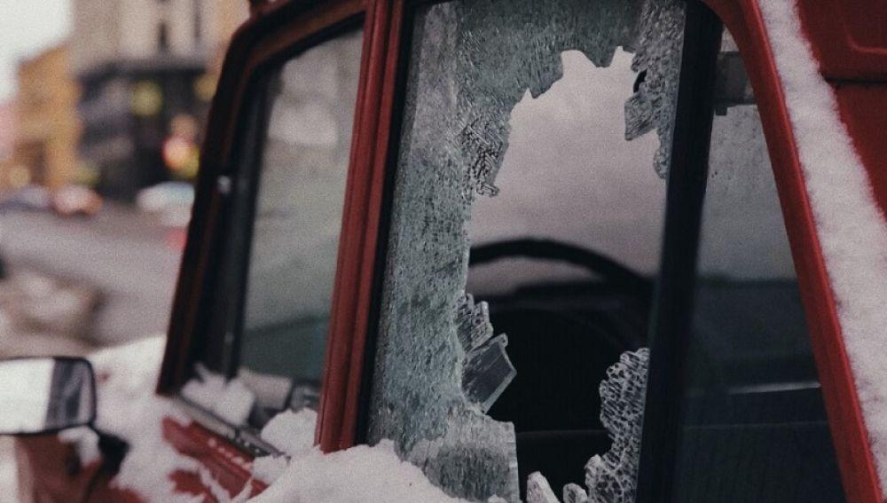 Hielo en los coches