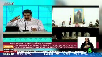 """Las """"gotitas milagrosas"""" de Maduro ya no """"neutralizan el COVID-19"""": el presidente matiza y habla de """"complemento antiviral"""""""
