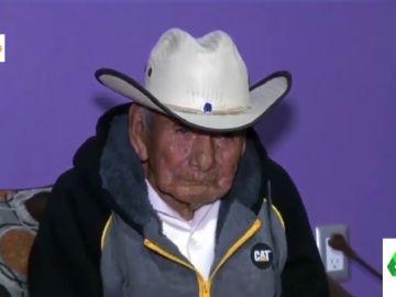 La historia de Manuel García Hernández: ha vivido tres siglos, tiene 17 hijos, 30 nietos y 40 bisnietos