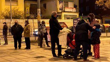 Gente en Granada
