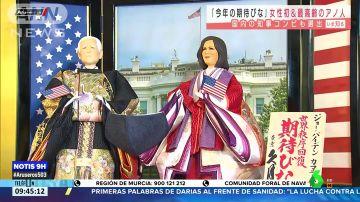 ¿George Bush o Joe Biden?: los muñecos de los nuevos dirigentes de EEUU que generan confusión