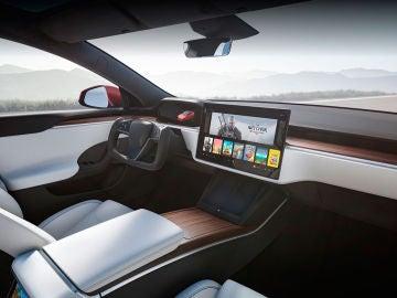 El interior de los nuevos Tesla