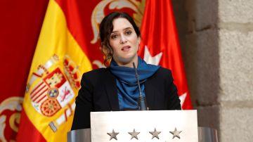 La presidenta de la Comunidad de Madrid, Isabel Díaz Ayuso, en una imagen de archivo